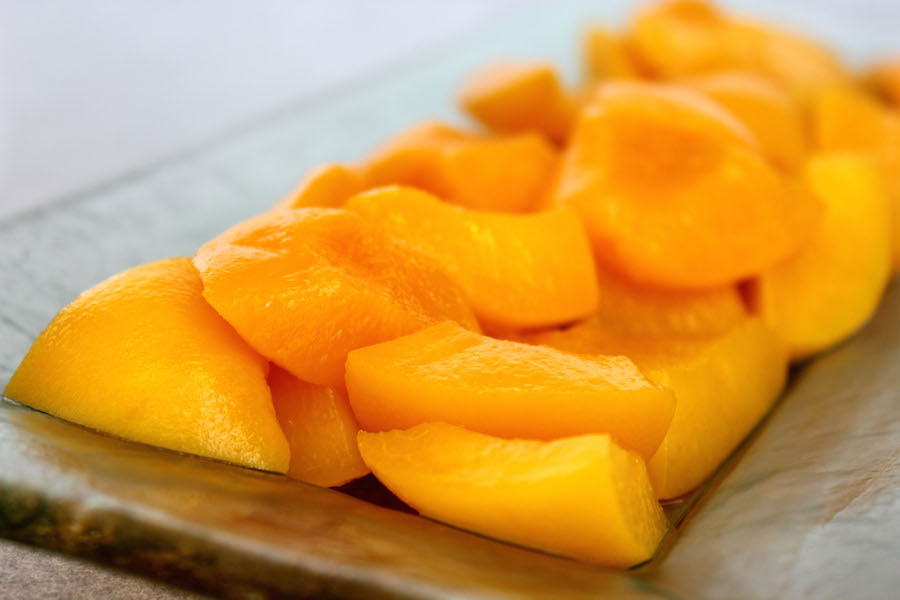 California Cling Peaches