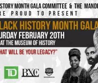 Canadian black History Month gala