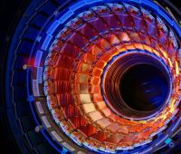 the large hadron collider and particle accelerators