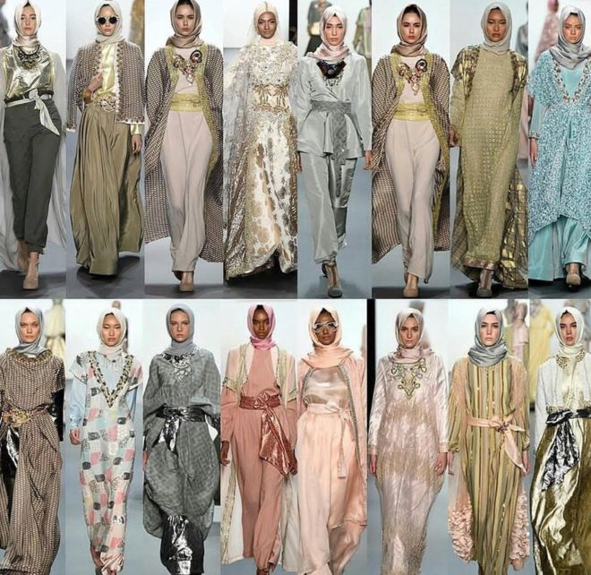 48 looks were showcased during the NYFW, all featuring hijabs.