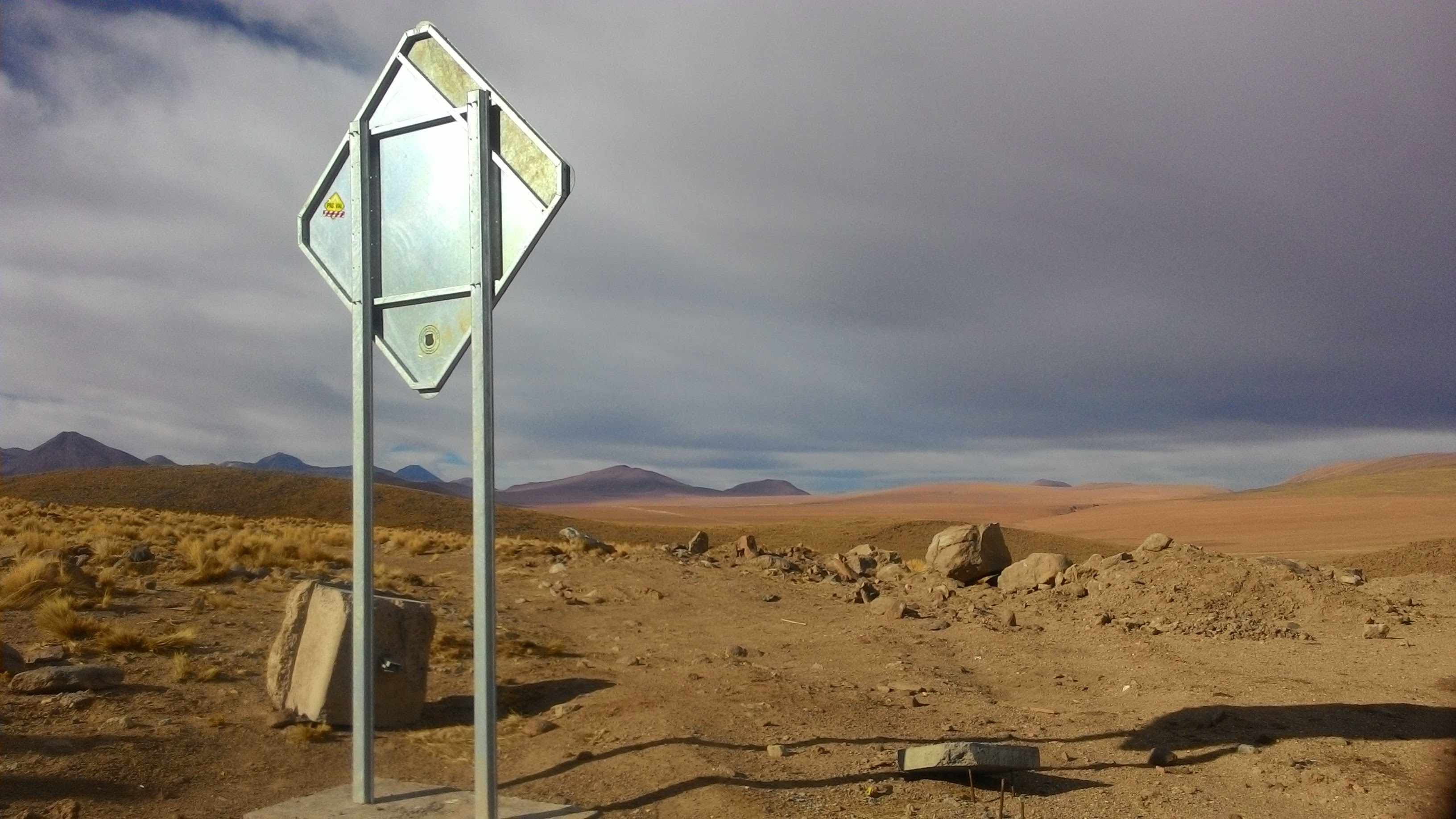 Welcome to the driest place on earth!