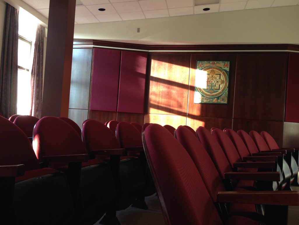 One of my favourite places to write, the Humanities lecture hall at Carleton.