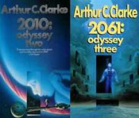 Book review, Arthur C. Clarke, 2001: A Space Odyssey, 2010: Odyssey Two, 2061: Odyssey Three, 3001: The Final Odyssey, HAL 9000, Benjamin Franklin, Oscar Wilde, Stanley Kubrick, United Nations, Microsoft, NASA, BBC, Jules Verne, H.G. Wells, Ottawa Public Library