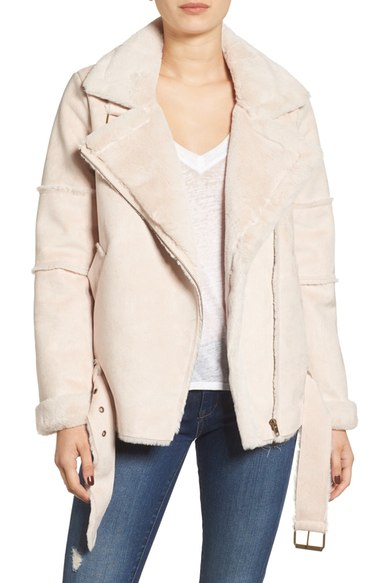 Sale: JOA Faux Shearling Jacket