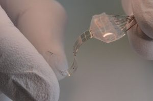 flexible self healing electronics