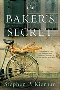 Stephen P. Kiernan, The Baker's Secret, Boston Globe, Burlington Free Press, Calvados, Canada House, Chris Bohjalian, The Curiosity, D-Day, Green Mountain State, The Hummingbird, Juno Beach, Longues-sur-Mer, Normandy, Red Mill Restaurant, SPIN, Three Squares Café, Vergennes, Vermont, World War II